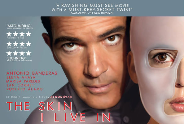 Pedro Almodovar's The Skin I Live In Poster