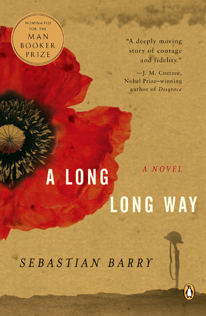 A Long Long Way by Sebastian Barry Book Cover