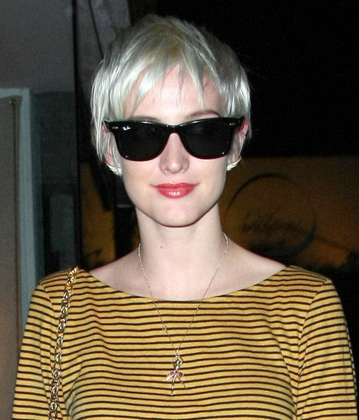Ashlee Simpson Pixie Haircut
