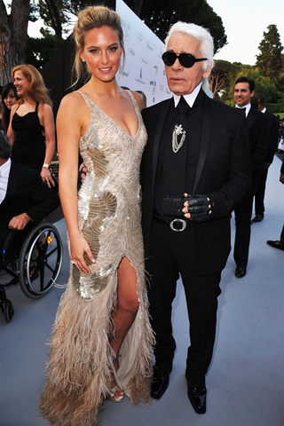 Bar Refaeli amfAR Cinema Against aids Cannes 2011