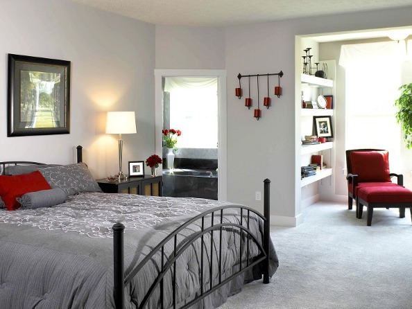 Interior Design Ideas Large Bedroom and Private Reading Corner