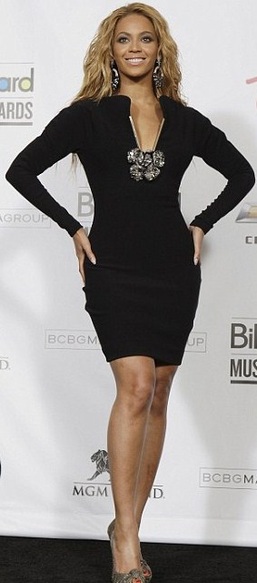 Beyonce Lanvin Fall 2011 Billboard awards 2011