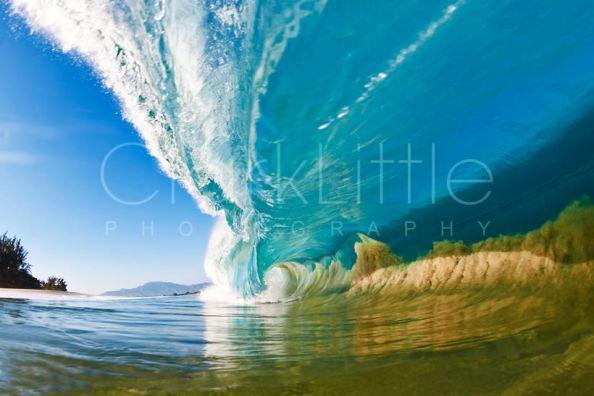 Big Blue Photograph by Clark Little