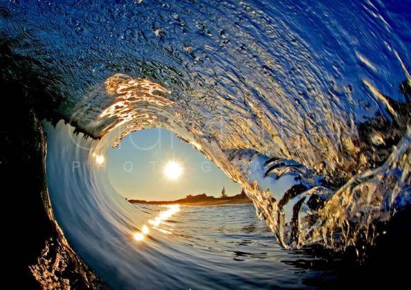 Blue Rise Photograph by Clark Little