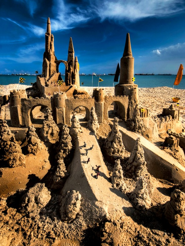Beach Castle in Singapore