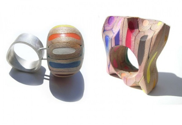 Crayon Rings by Cristina Bellucci