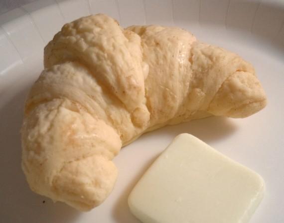 Realistic Croissant Soap Bar
