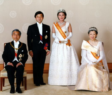Crown Princess Masako of Japan Wedding Dress