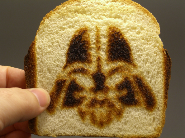 Darth Vader French Toast