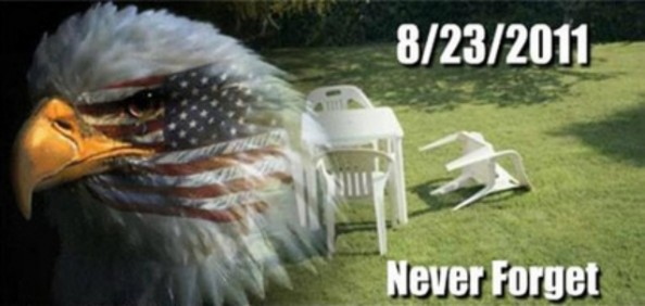 earthquake never forget 23 august