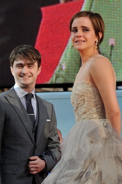 Emma Watson Emotional at the Deathly Hallows Premiere