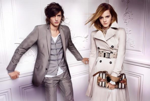 Emma Watson Fashion Burberry Spring 1
