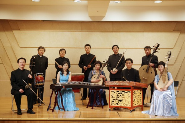 Forbidden City Chamber Orchestra from China at Plai Festival 2011 Romania