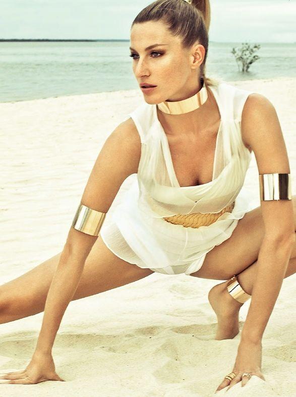 Gisele Bundchen for Vogue Brazil July 2011