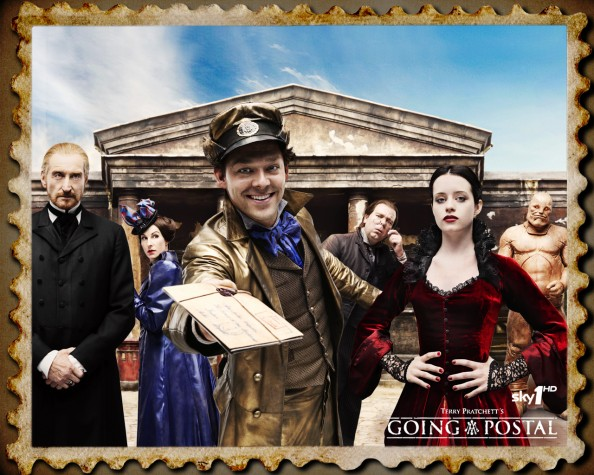 Terry Pratchett Going Postal Movie Poster