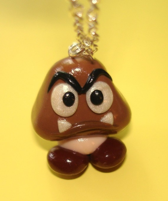 Goomba Necklace