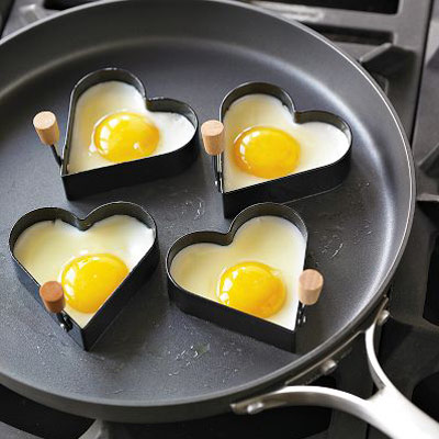Heart Shaped Egg Fry Rings