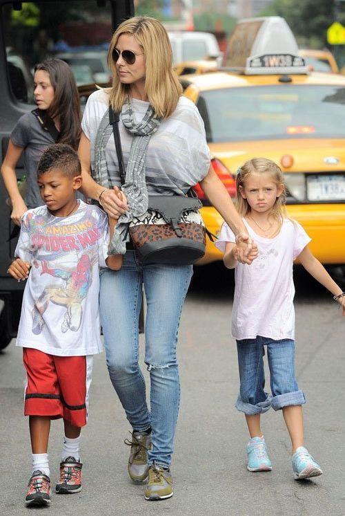 Heidi Klum and Kids