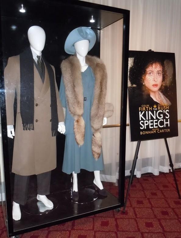 Helena Bonham Carter The Kings Speach Cocktail dres