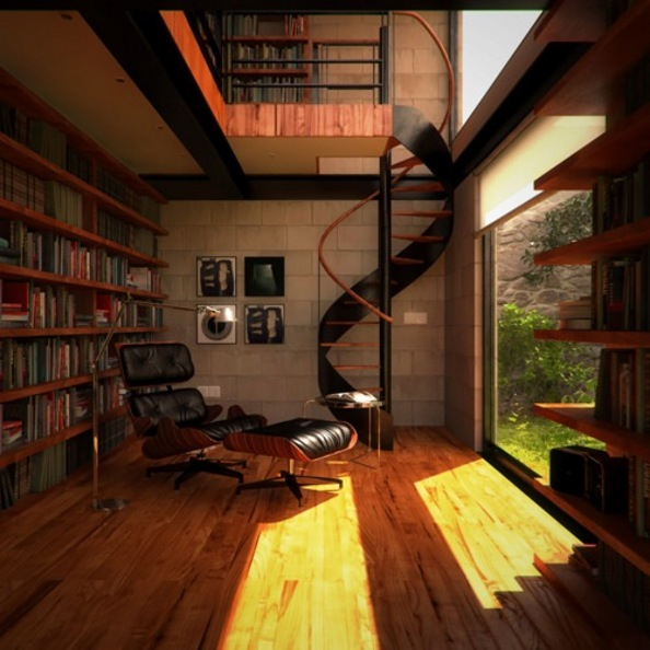 Interior Design Ideas Massive Home Library