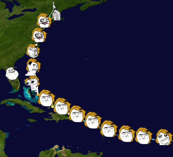 Hurricane Irene Rageface