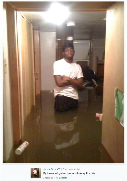 Hurricane Irene Basement Disaster Gangsta