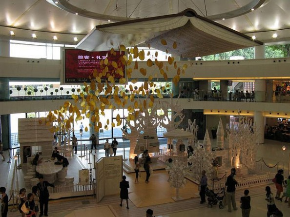 Installation at New Town Plaza, Sha Tin, Hong Kong