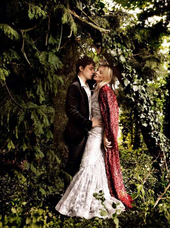 Kate Moss Jamie Hince Wedding July 2011