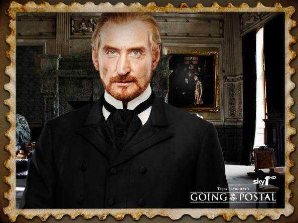 Lord Vetinari in Terry Pratchett Going Postal Book