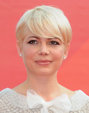 Michelle Williams Pixie Haircut