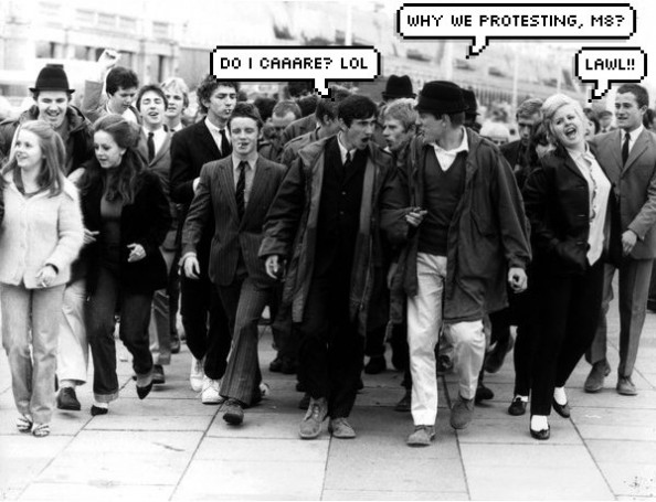Mod Revival Protests