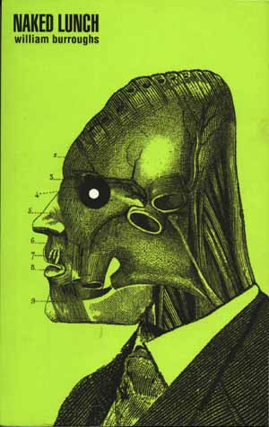Naked Lunch by William Burroughs Book Cover