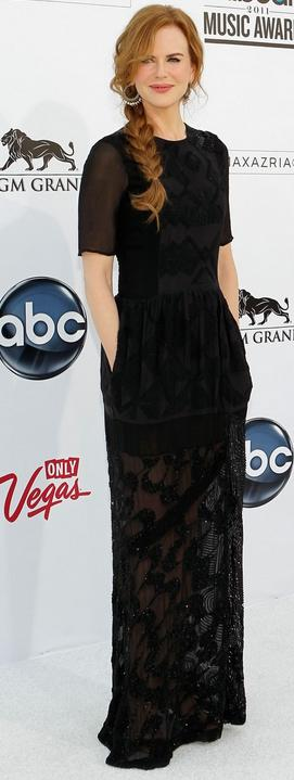 Nicole Kidman Dries van Noten Fall 2011 dress at Billboard Awards 2011