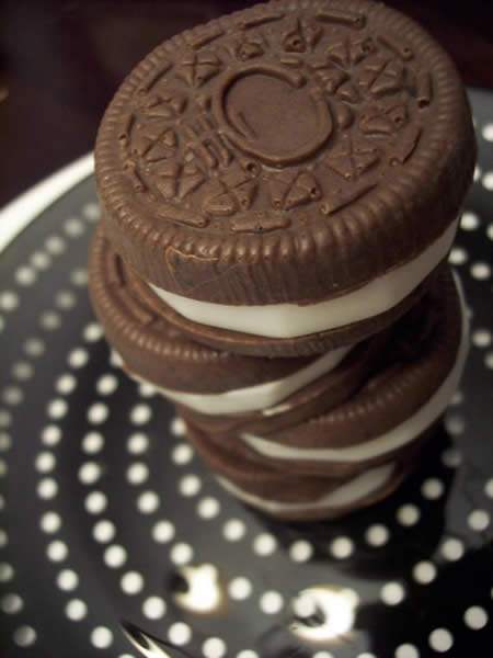 Realistic Oreo Biscuits Soap Bar