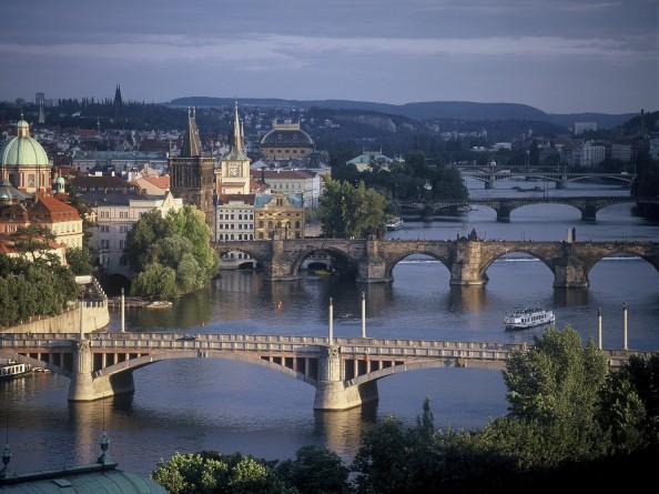 Overview of the Bridges on Vltava in Prague