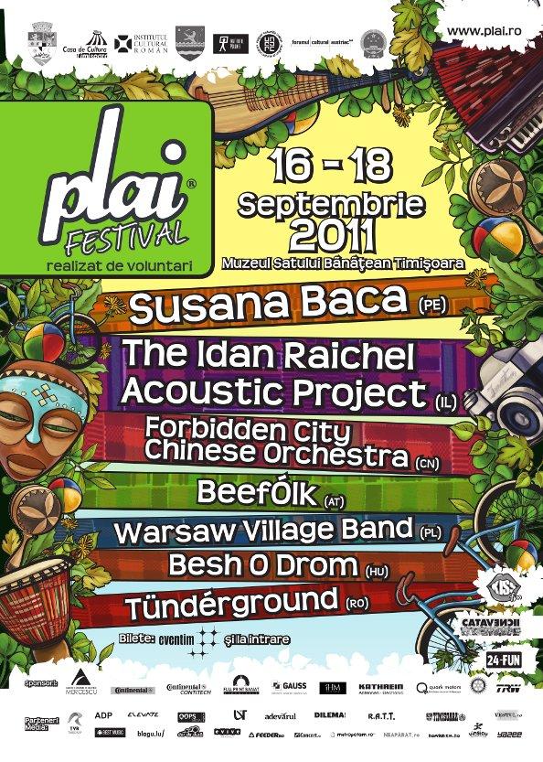 PLAI Festival 2011 Event Poster