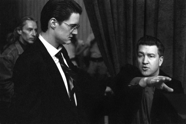 Richard Beymer with David Lynch at the Twin Peaks Festival Photo