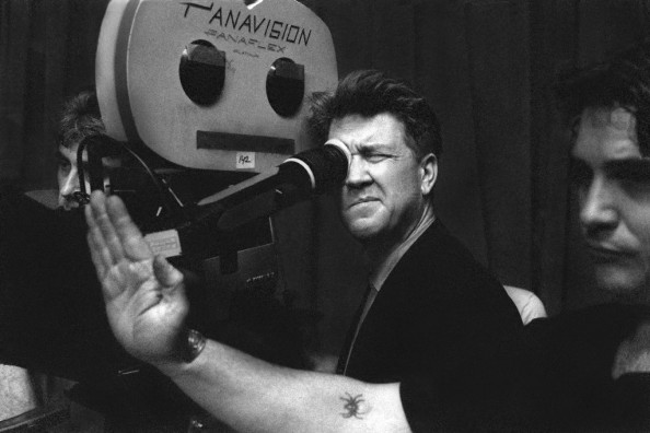 David Lynch on the Twin Peaks Set in Richard Beymer Photos Collection