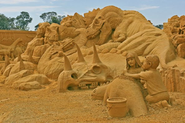 Sand Sculpting in Frankston