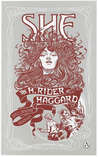 She by H Rider Haggard Book Cover
