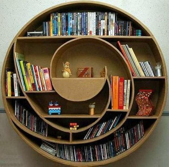 Snailshell Bookshelf
