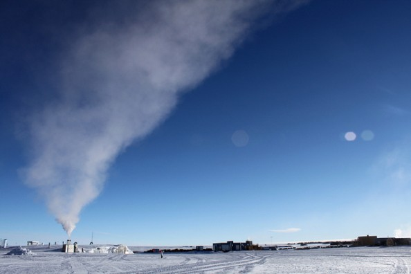 Antarctica South Pole Power Plant