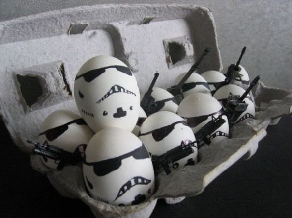 Storm Trooper Eggs
