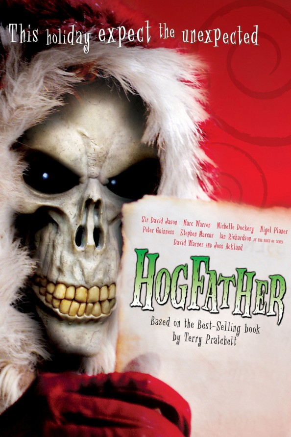 The Hogfather DVD Cover Movie Adaptation After a Terry Pratchett Book
