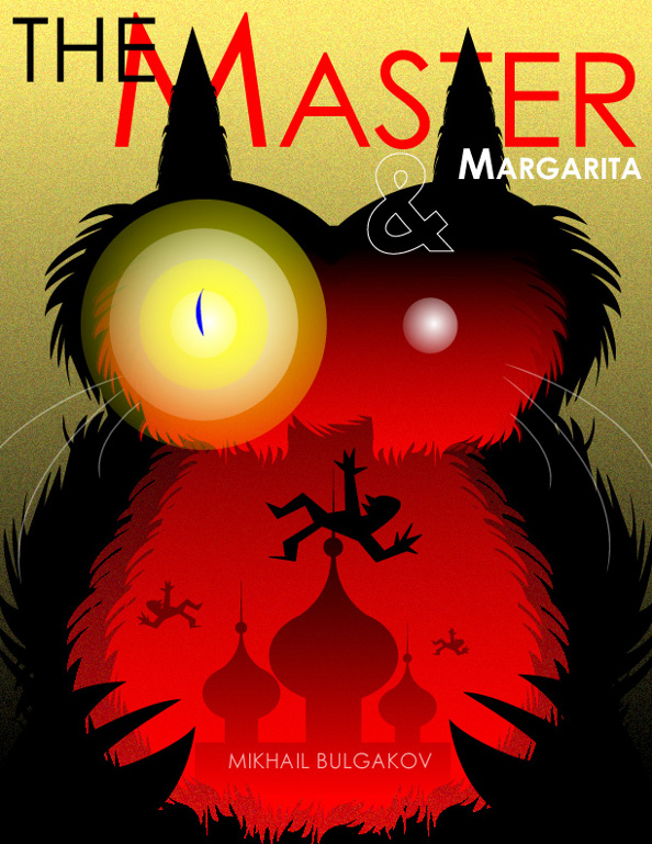 The Master and Margarita by Mikhail Bulgakov Book Cover