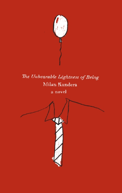 The Unbearable Lightness of Being by Milan Kundera Book Cover