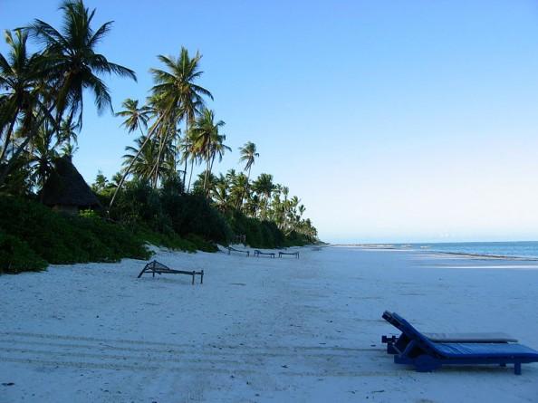 Top 4 blue beaches in the world Zanzibar Tanzania
