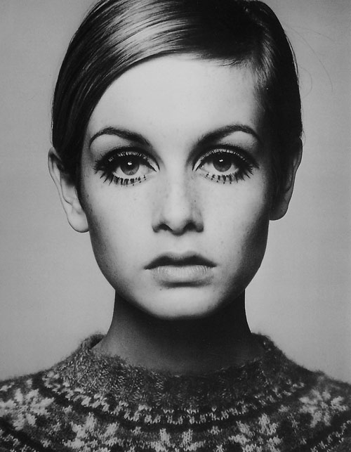 Twiggy 60 Model Pixie Haircut