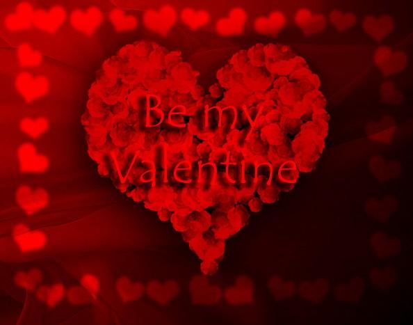 Valentines Day Card Be My Valentine