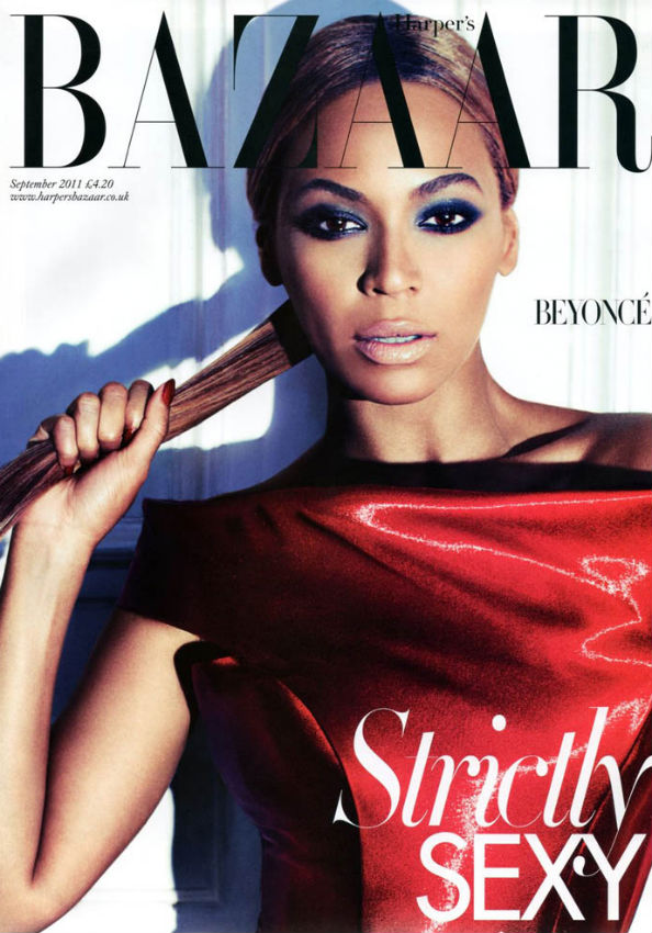 Beyonce for Harper's Bazaar UK September 2011